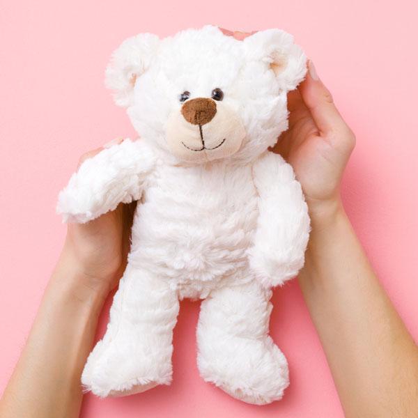 Teddy mit Füllwatte